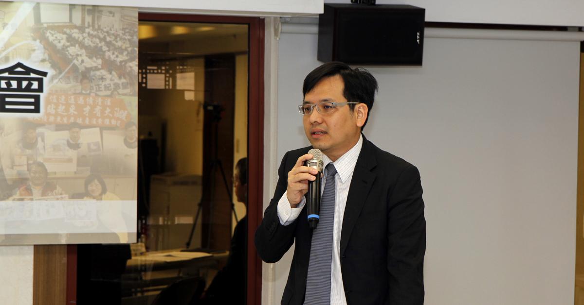 財團法人法律扶助基金會執行長周漢威律師